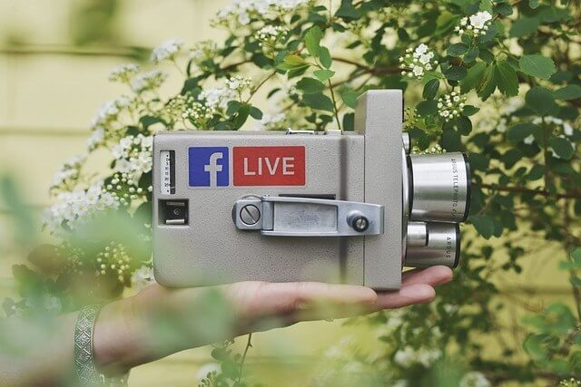 tips for going live on Facebook and Instagram