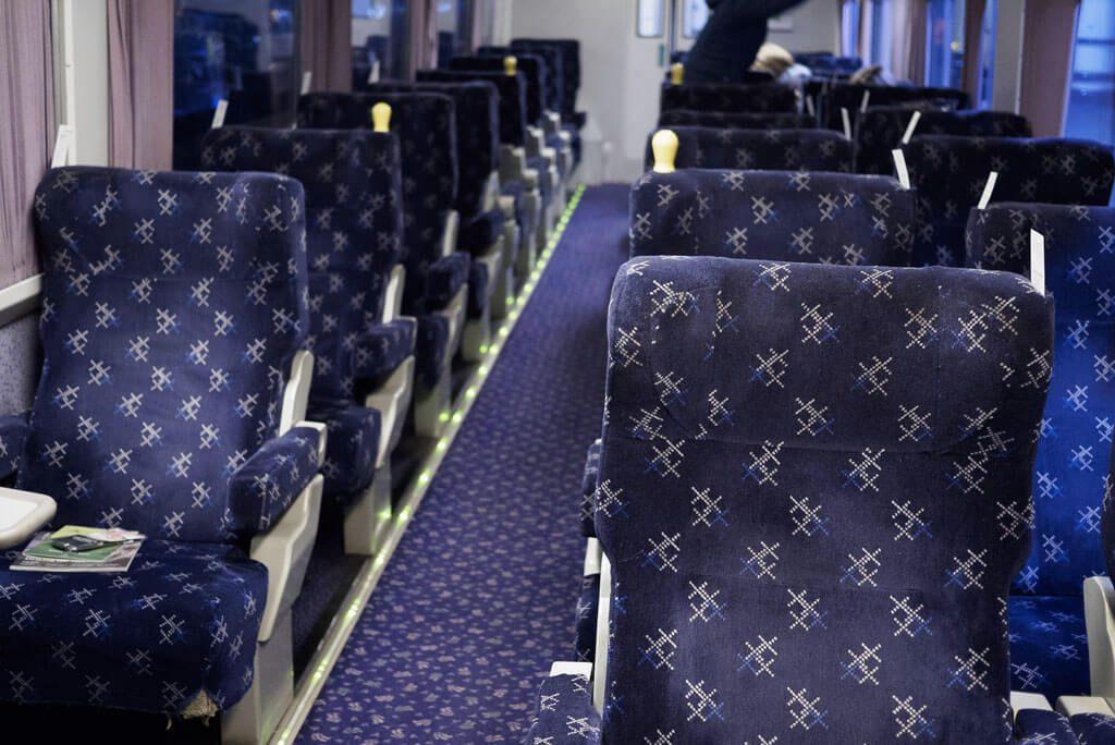 Caledonian Sleeper seating