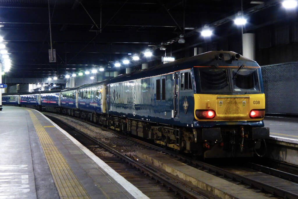 Caledonian Sleeper Train