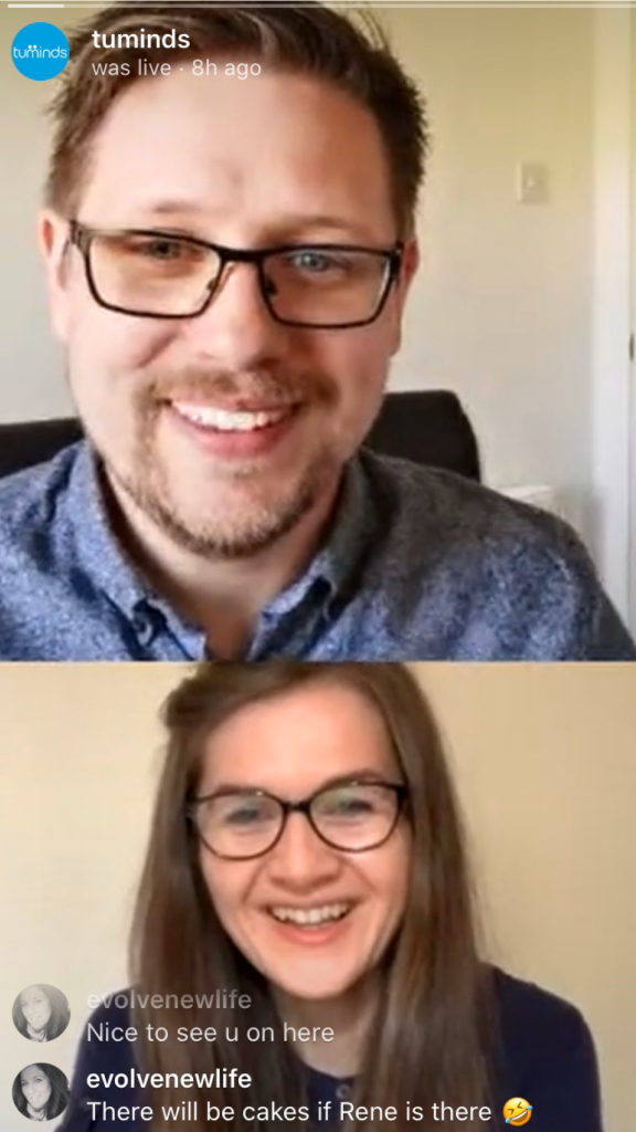 Alastair and Emma live on Instagram answering social media questions